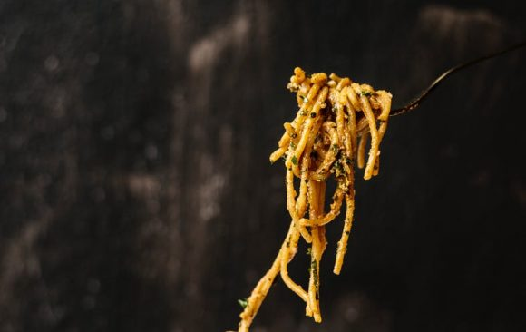 The bigoli, the traditional pasta of Veneto