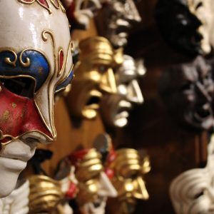 The masks of Venice Carnival: Pantalone